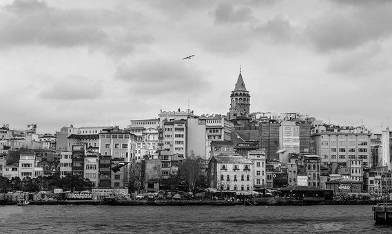 Galata, Galata Tower, Ista, Istanbul, Peace, Marine