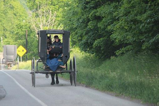 Amish People, Joe Keim, Amish Country, Amish Buggy