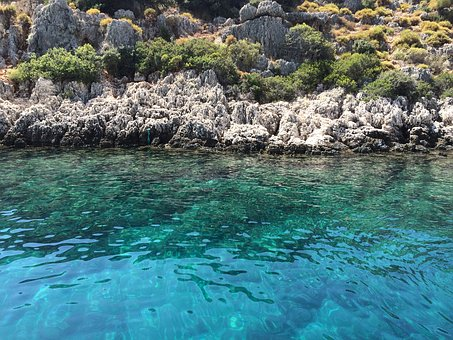 Crystal Waters, Browse, Kekova, Turkey, Deep Blue