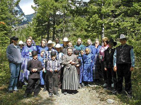 Amish, People, Persons, Religion, Lifestyle, Clothes