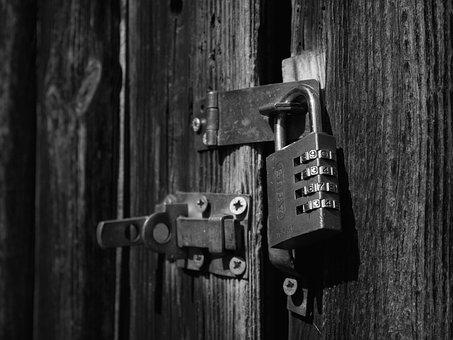 Lock, Locked, Secure, Security, Key, Combination