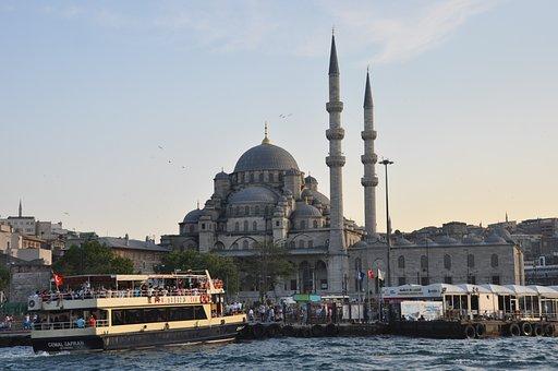 Marine, Istanbul, üsküdar, Beach, Blue, Peace, Fish