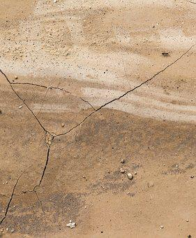 Earth, Nature, Ant, Dry, Crack