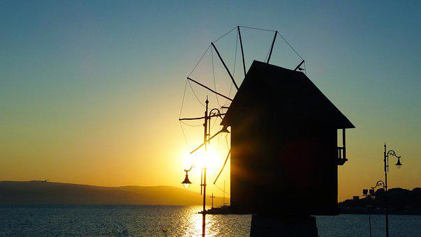 Nessebar, Bulgaria, Eastern Europe, Summer, Sea