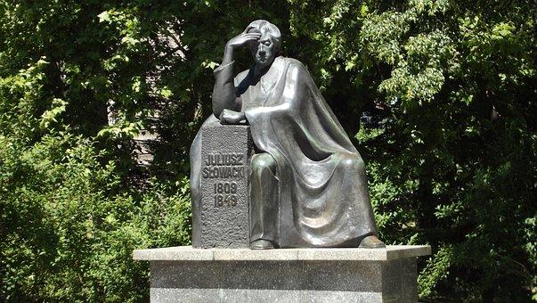 Wrocław, Julius Slovak, Slovak, Monument, Park Slovak