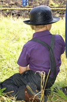 Amish, Person, Boy, Amish People, Men, Traditionalist