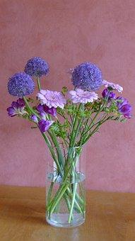 Bouquet, Flowers, Congratulations, Beautiful, Pink