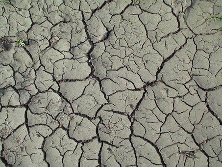 Texture, Nature, Mud, Trough, River, Pool, Drought