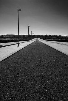 Road, Loneliness, Path, Crisis, Unemployment