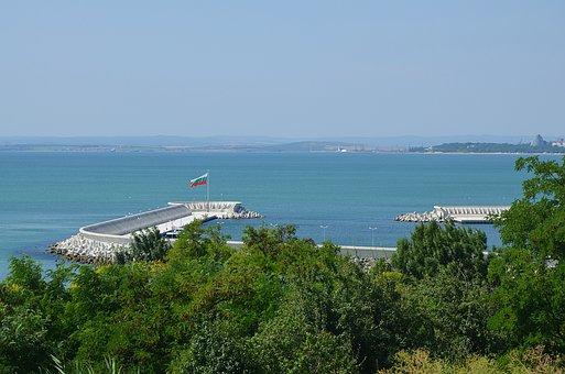 Bulgaria, Sea, Burgas, Sarafovo, Port