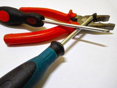 Repair, Combination Pliers, Pincers, Tools, Screwdriver