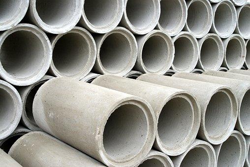 Concrete, The Design Of The, Tube, Channel, Sludge