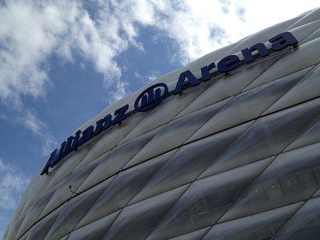 Allianz Arena, Football Stadium, Sport, Spectators