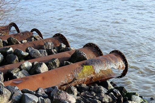 Pipes, Stainless, Erosion, Metal, Old, Rusted, Iron