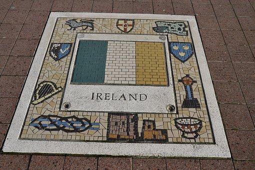 Ireland, Team Emblem, Emblem, Team, Flag, Symbol