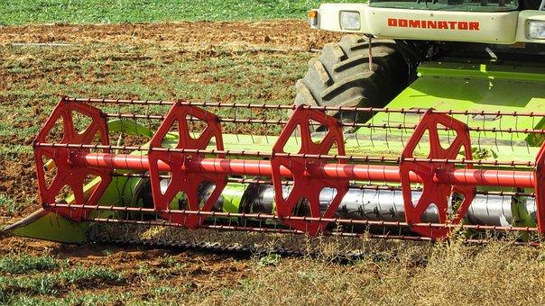 Threshing Machine, Agriculture, Machine, Farming