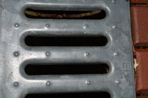 Trace, Water, Sewage System, Rainwater, Plot, Metal