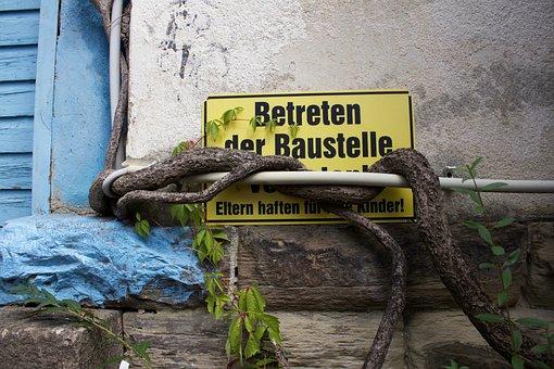 Trespassing, Walk Into, Shield, Prohibitory, Branch