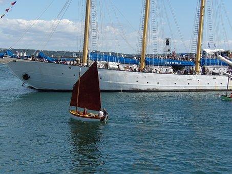 Ships, Sailboats, Port, Marina, Water, Boat, Sea