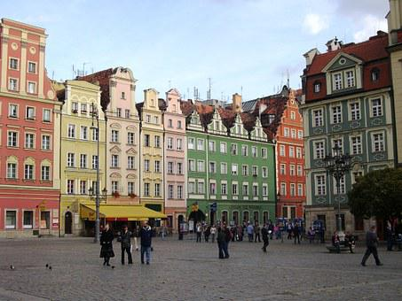Wroclaw, Poland, Market, Rynek