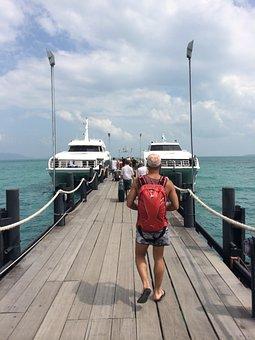 Thailand, Sea, Vacation, Koh Tao, Koh Samui, Beach