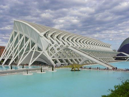 City Of Arts And Sciences, Valencia, Cac, Spain
