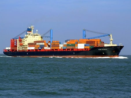 Aenne Rickmers, Ship, Vessel, Container, Freight, Cargo