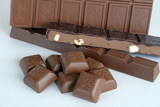 Chocolate, Swiss Chocolate, Candy, Delicious, Nibble