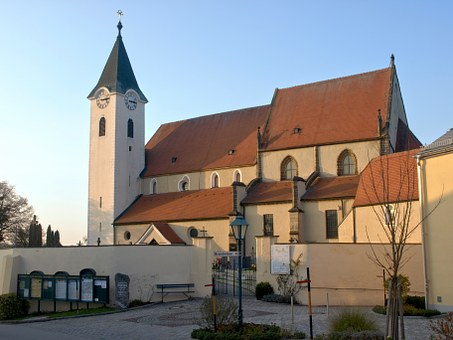 Ardagger Stift, Hl Margarethe, St Margareten, Church