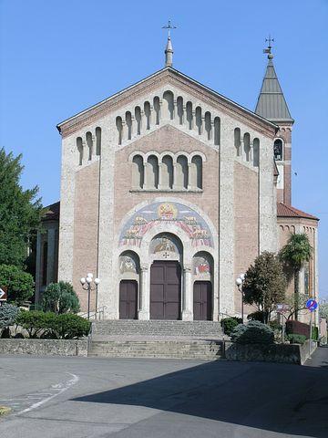 Church, Porto D'adda, Cornate D'adda, Adda