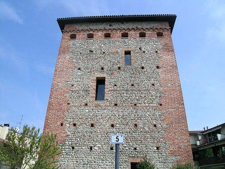 Torre, Colnago, Cornate D'adda, Middle Ages