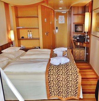 Cruise Ship, Aida, Bella, Balcony, Cabin