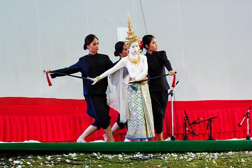 Dance Theater People, Thailand Culture, Acting