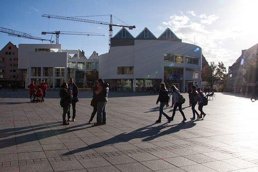 Disney, Ulm, Meier Building, Modern, Richard Meier