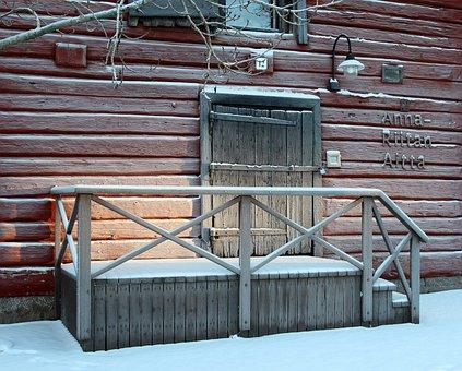 Oulu, Gift Shop, Storehouse, Anna Ritian Aitta, Door