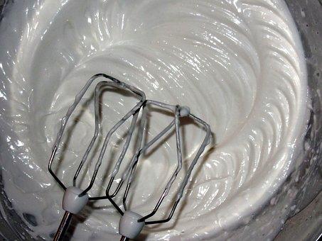 Egg Whites, Mixer, Bake, Dough, Egg White, Beat