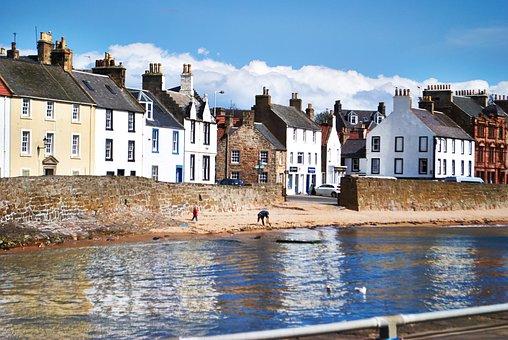 Anstruther, Beach, Fife Scotland, Coast, East, Estuary