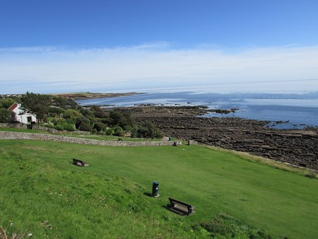 Scotland, Crail, Fife, Coast, Beach, Sea, Landscape