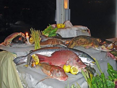 Fish, Buffet, Fish Buffet, Meal, Delicious, Tasty