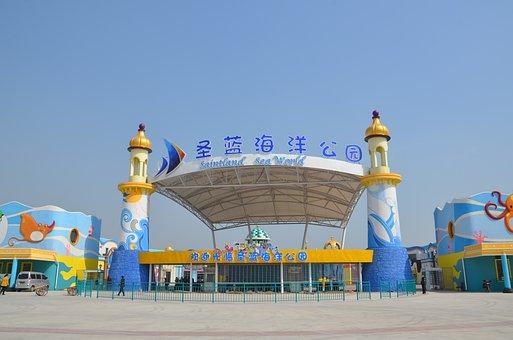 St Blue Ocean Park Entrance, Front Gate, Resorts