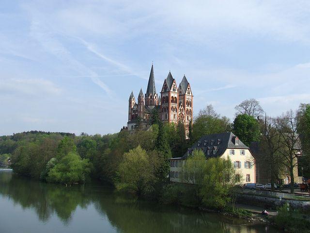 Limburg, Germany, Hesse, Dom, Church, Building, River