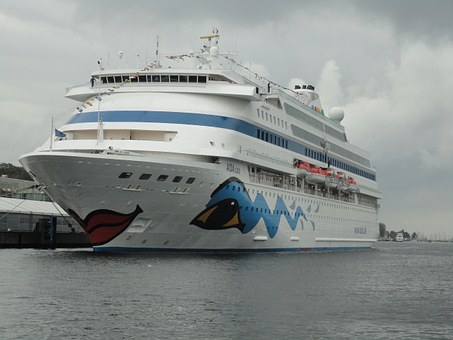 Kiel, Baltic Sea, Water, Passenger-wrong, Aida