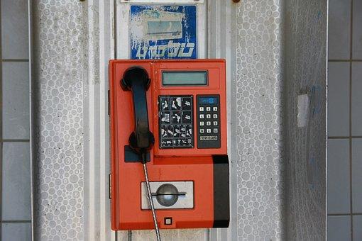 Israel, Tel Aviv, Beach, Public Telephones, Phone