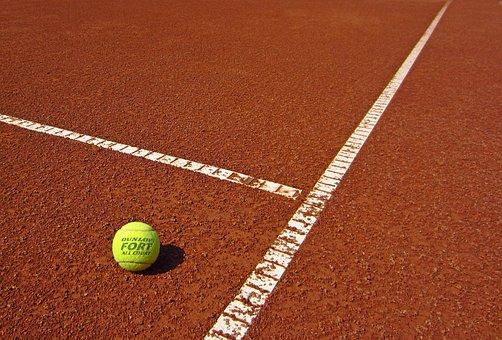 Sport, Tennis, Ball, Outdoor, Game, Play, Slag Field