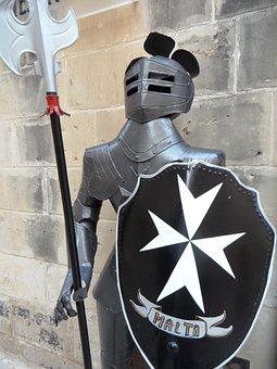 Malta, Knight, Ritterruestung, Armor, Order Of Malta