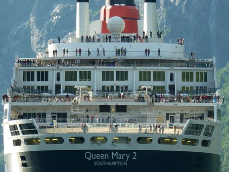 Queen Mary Ii, Cruise Ship, Ship, Holiday, Cruise