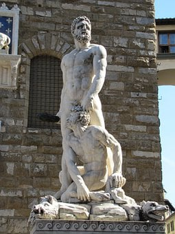 Bandinelli, The Statue Of Hercules And Cacus, Statue