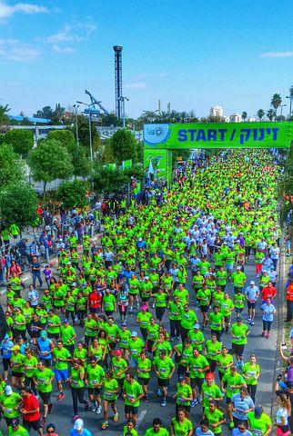 Tlv, Tel Aviv, Israel, Tlv Marathon, Tel Aviv Marathon