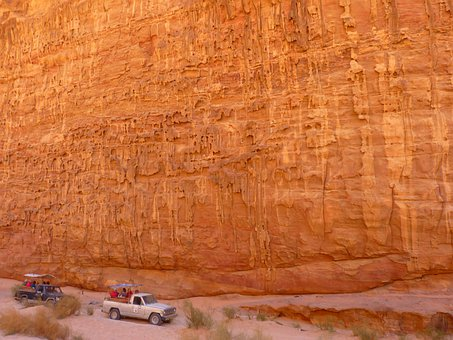 Wadi Rum, Negev, Negev Desert, Jordan, Holiday, Travel