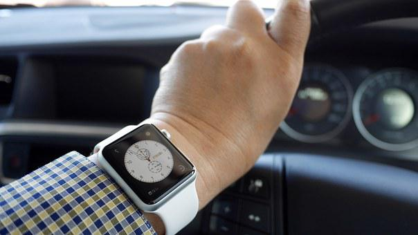 Apple Watch, Kerr, Dashboard, Hand, Watch